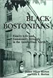 Black Bostonians : Family Life and Community Struggle in the Antebellum North, Horton, James O. and Horton, Lois E., 0841913803