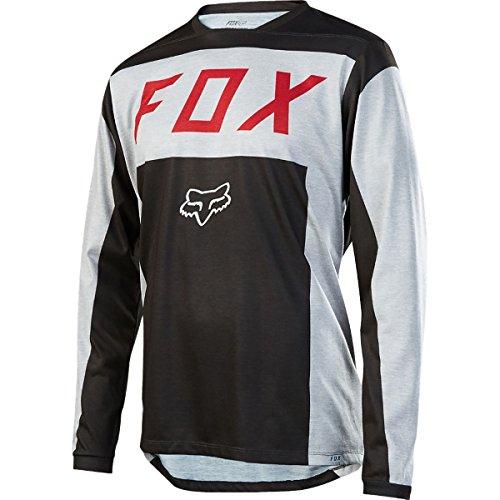 Fox Racing Indicator Jersey - Men's Light Grey, M by Fox Racing
