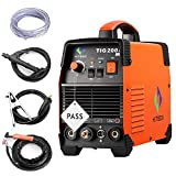 TIG Welder - 200 amp Portable TIG Welding Machine High Frequency 220V TIG MMA 200 with TIG Stick IGBT Inverter Welder
