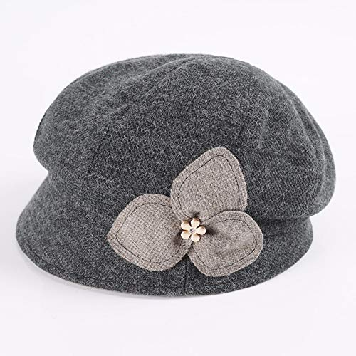 Viento Sombrero Y Ladies' Calefaccion Yiersansi Invierno E black De Prueba Engrosamiento Pac De Otoño Versión Coreana Black A Hat B77nx0O4