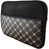 "caseen S10 Sleeve (Black Tan Plaid) for New iPad 4(4th Gen), iPad 3, iPad 2, Nook HD+, Google Nexus 10, Asus Eee Pad Transformer TF101, TF201, TF300, TF700, Microsoft Surface RT, Samsung Galaxy Tab, Galaxy Note 10.1, Motorola Xoom, HP Touch Pad , Acer Aspire One D250, Toshiba Mini NB200 NB205, Toshiba Thrive Tablet, Archos 101 Internet Tablet, 10"" Netbooks, 9""-10"" Portable DVD Player and more 10"" Devices"