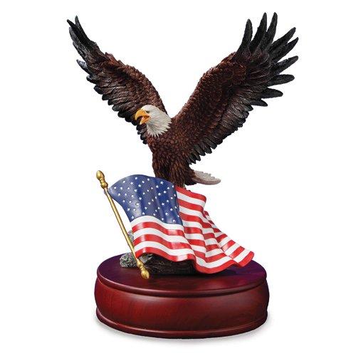 - American Eagle Muscial Figurine by The San Francisco Music Box Company