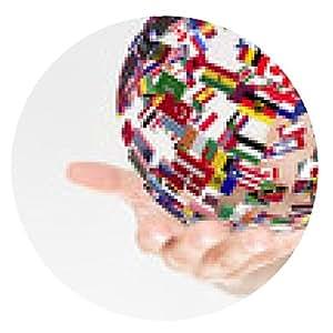 alfombrilla de ratón banderas de la mano - ronda - 20cm