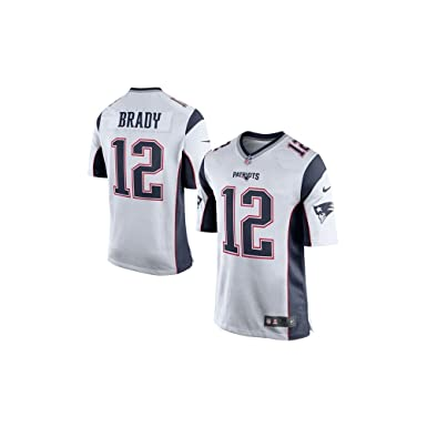 best sneakers b0451 f5817 Amazon.com : NIKE Tom Brady New England Patriots White Men's ...