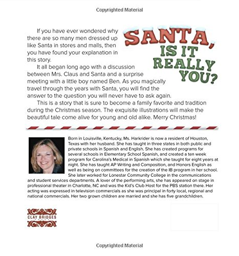Santa, Is it Really You? by Clay Bridges Press (Image #1)