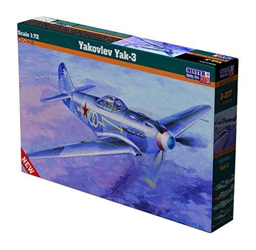 MisterCraft MCD207 1:72 Scale Yakovlev Yak-3 Model
