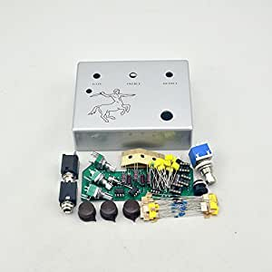 make your own overdrive professional guitar boost effects pedal all kits klons. Black Bedroom Furniture Sets. Home Design Ideas
