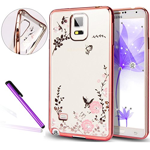 galaxy-s5-caseleeco-galaxy-s5-case-flower-plating-case-soft-shell-tpu-flower-fit-protective-case-cov