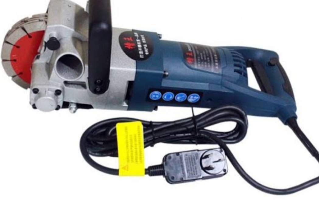 Wc Chaser Groove Cutting 220v 2500w Wall Slotting Machine Blue Amazon In Industrial Scientific