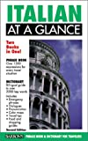 Italian at a Glance, Mario Constantino, 0764112562