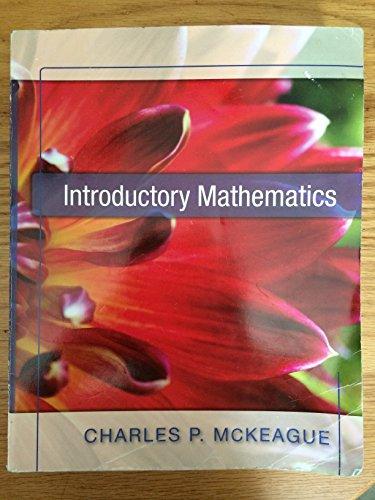 Introductory Mathematics [Paperback]