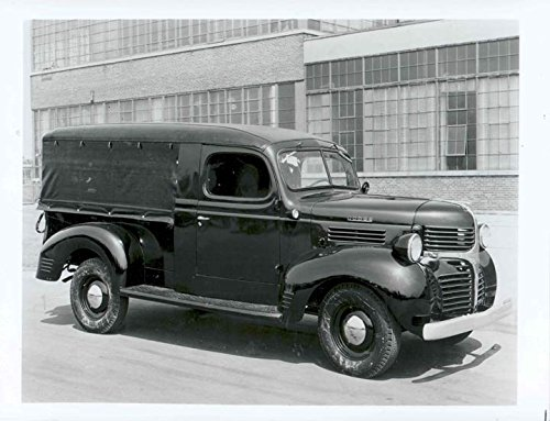 1946 1947 Dodge Canopy Truck Factory Photo