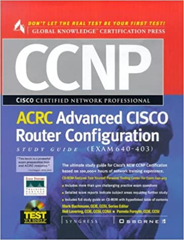 CCNP Advanced CISCO Router Configuration Study Guide : (Exam
