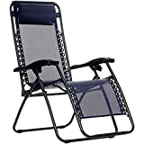 AmazonBasics Zero Gravity Chair - Blue