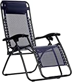 AmazonBasics Zero Gravity Chair - Blue