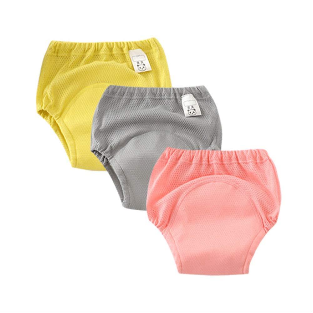 XOODEO 3 Piezas de Impermeable beb/é Inodoro Entrenamiento Pantalones Ropa Interior Reutilizable beb/é pa/ñal pa/ñal potaje Pantalones XL Verde