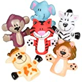 Animal Finger Puppets -12 Per Package – Fun Toy For Boys And Girls – By Kidsco