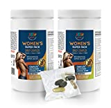 Product review for Natural menopause relief pills - WOMEN'S DAILY PACK COMPLEX - Cla safflower oil pills - 2 Bottles (60 Packs)