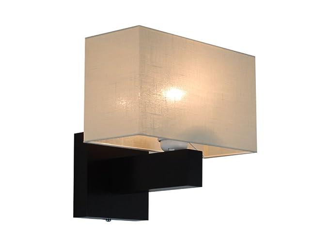 Elegante lampada da parete in legno massiccio jk2ecd wenge