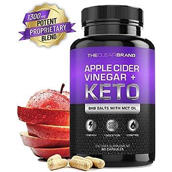 Amazon.com: Keto Diet Pills + Apple Cider Vinegar (BHB