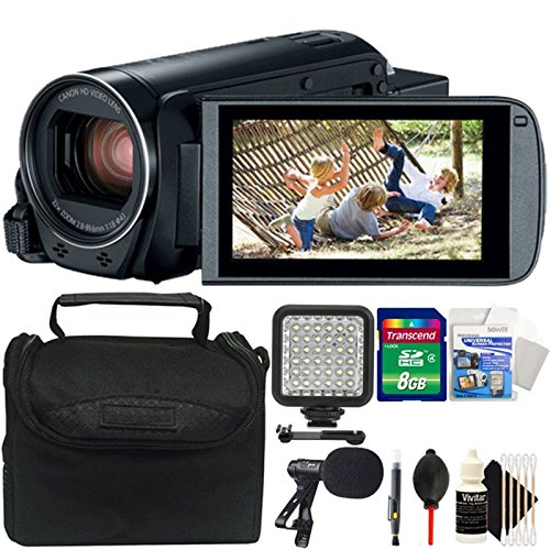 Canon Vixia HF R800 1080p HD Video Camera Camcorder Black wi