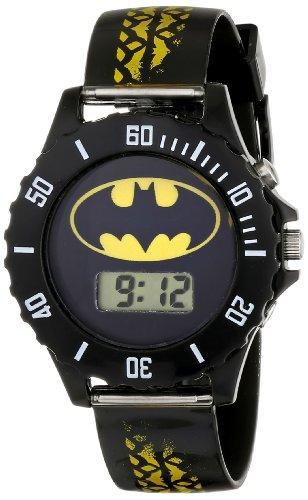 Batman Kids' BAT4135 Digital Display Analog Quartz Black Watch