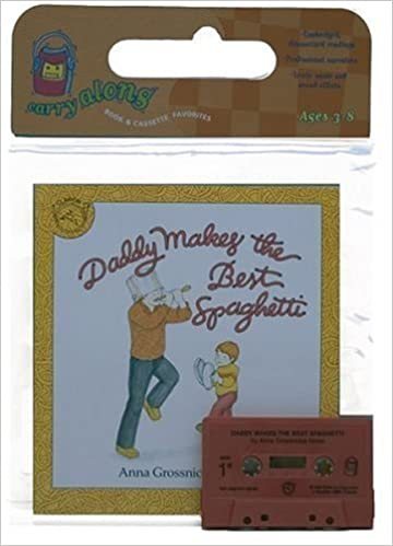 Book Daddy Makes the Best Spaghetti Book & Cassette by Anna Grossnickle Hines (1989-10-23)