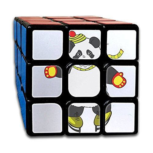 Ice Skating Clipart - Panda Clipart Ice Skating Magic Cube Brain Training Game Match Puzzle Toy For Kids Or Adults Speed Cube Stickerless Magic Cube