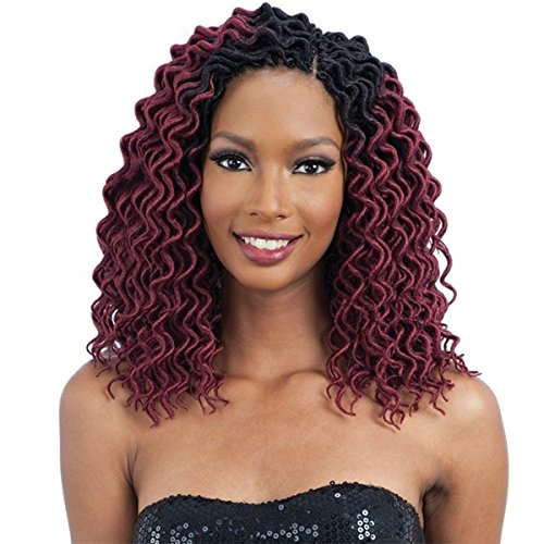CURLY FAUX LOC SMALL (OT30) - FreeTress Synthetic Crochet Braid