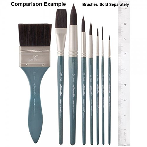 Creative Mark Mimik High Performance Professional Artist Synthetic Squirrel Hair Watercolor Brush- Washmate Brush 3''