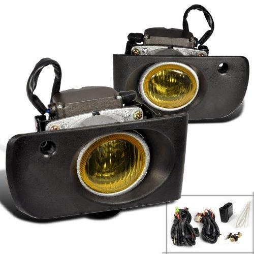 Spec-D Tuning LF-INT94AMOEM Acura Integra Ls Rs Gs Yellow Oem Style Fog Lights