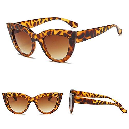 De Viajes Libre Protección Brown Al 4 Sol Aire Gafas Sol De para Sol Mujer De Gafas Sol Retro Fansport UV Gafas Gafas De para BYUw4zY1q