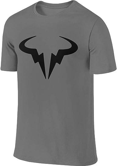Amazon Com Hengteng Man Design Fashion Tees Rafael Nadal Logo T Shirts Clothing