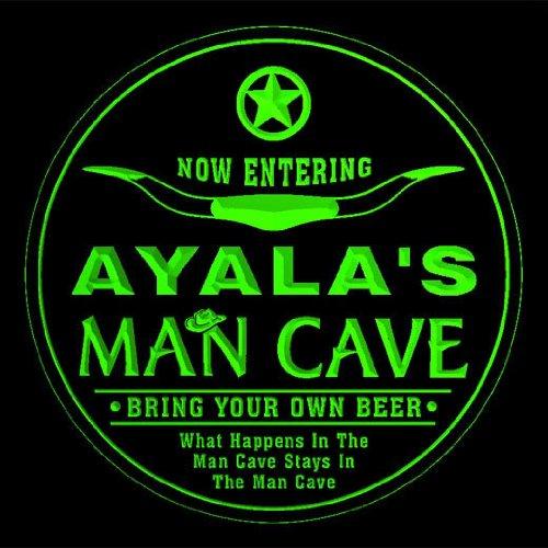 4x ccpb1513-g AYALA'S Man Cave Cowboys Bar Beer Drink Etc...