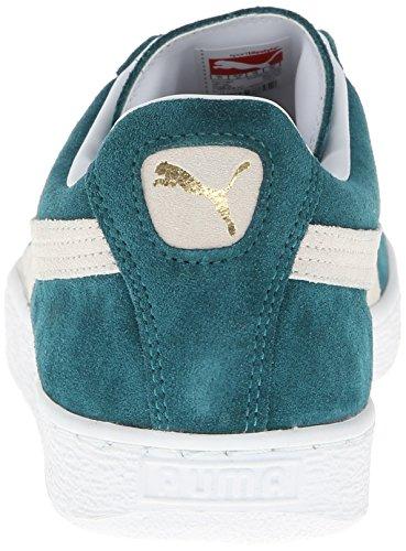 Chaussures Plus turquoise Cuir Foncée En Pour Classic Puma Femmes Suede Turquoise x1nwCEFB