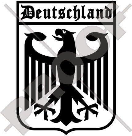 Deutschland Deutscher Adler Deutschland 160mm Auto Motorrad Aufkleber Vinyl Stickers Wahl Von 22 Farben Garten