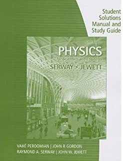 Amazon physics for scientists and engineers with modern physics study guide with student solutions manual volume 2 for serwayjewetts physics for scientists fandeluxe Image collections