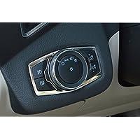 Chrome Inner Headlight/&fog Switch panel Cover trim for Ford Fusion EXPLORER Escape