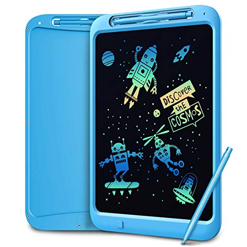 3 Colors Colorful Electronic Drawing Writing Board Party Favors Gifts for Kids Yodeace 2nd Generation 10inch LCD Writing Tablet Pad with Pen Portable eWriter Digital Handwriting Paper Doodle Board