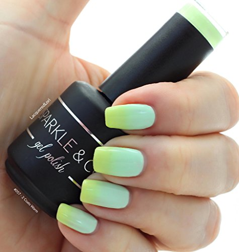 Sparkle & Co. Soak Off Gel Color 057 Temperature Change Turq