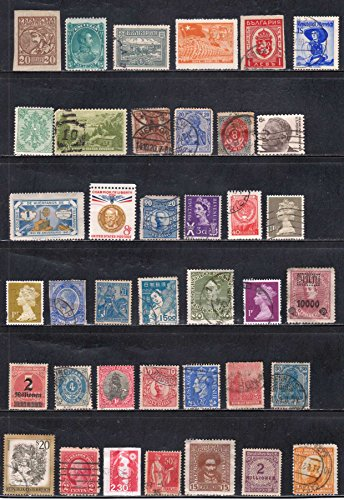 Postage Stamps From USA Austria Germany Japan China Sweden