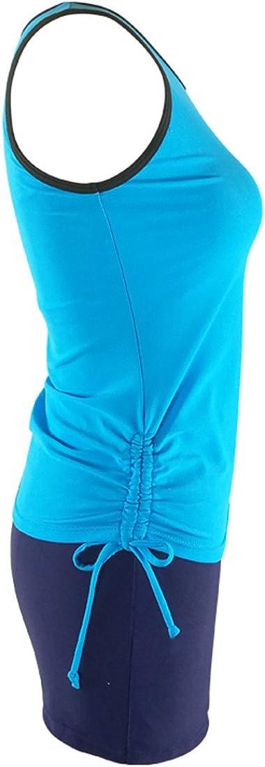 2 pezzi Blu 42-44 Costume da bagno da donna QRANSS