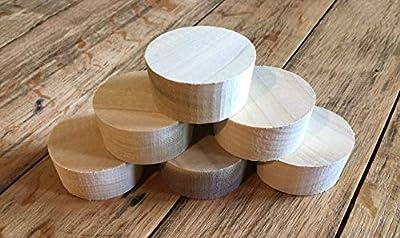 6 Wooden Bourbon Barrel Bungs