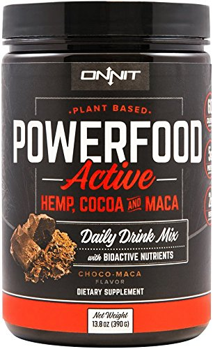 Onnit Powerfood Active: Vegan Hemp Protein Powder (30 Servings) Active Protein