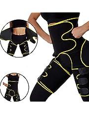 Waist Trainer Corset, Entrenador de Cintura de Neopreno Mujer Cintura Alta para Mujer Adelgazante cinturón de Cintura for Women Lumbar SaunaM-Yellow