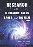 Research in Recreation, Parks, Sport & Tourism by Carol Cutler Riddick (2014-06-01)