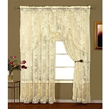 Curtains Ideas cheap lace curtain panels : Amazon.com: 63