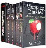vampire diaries books 1 to 7 5 books 1 hardback set pack the awakening the struggle the fury the reunion nightfall shadow souls the return hardback the vampire diaries collection