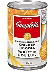 Campbell's Homestyle Chicken Noodle Soup, 284ml, 12-Count