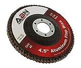 """ABN 4.5"""" x 7/8 T27 40 Grit Aluminum Oxide Flat Flap"""